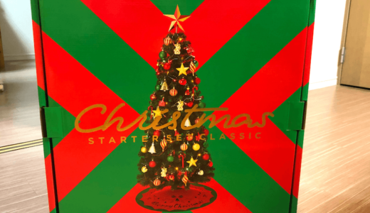 【2019】Francfrancのクリスマスツリー「スターターセット」を購入!組み立て方・商品レビュー