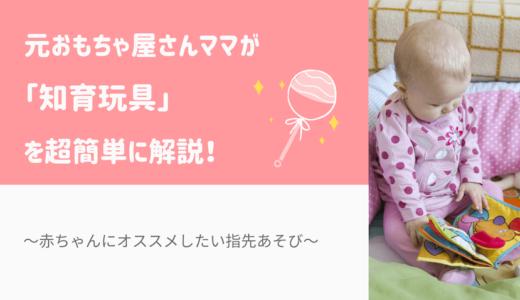 元おもちゃ屋さんママが「知育玩具」を超簡単に解説!赤ちゃんにオススメしたい指先あそび