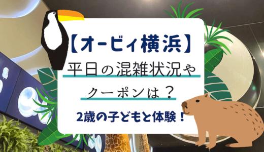 【オービィ横浜】平日の混雑状況やクーポンは?2歳の子どもと体験!